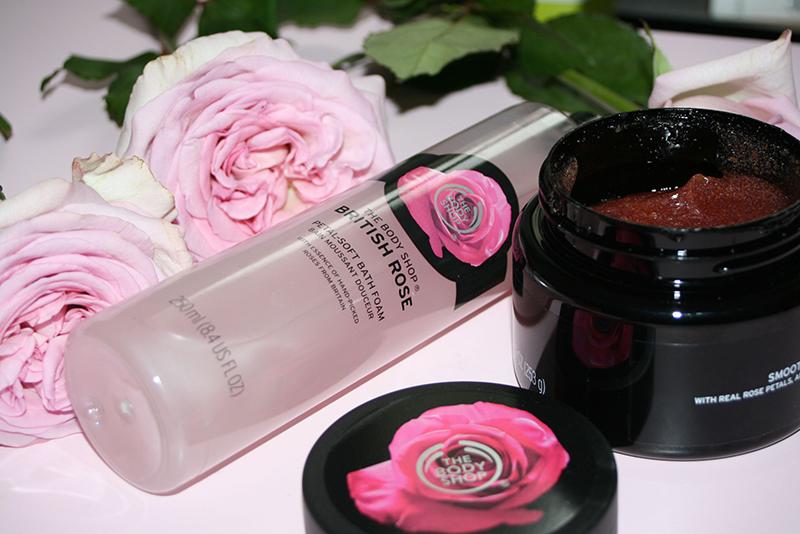 Je vois la vie en rose avec The Body Shop (gamme British Rose)