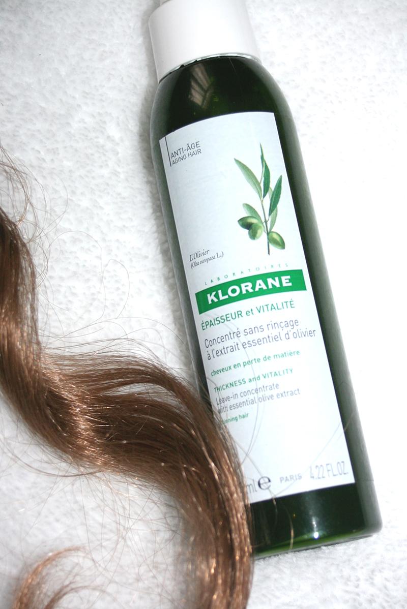 cheveux épais klorane concentré anti-âge