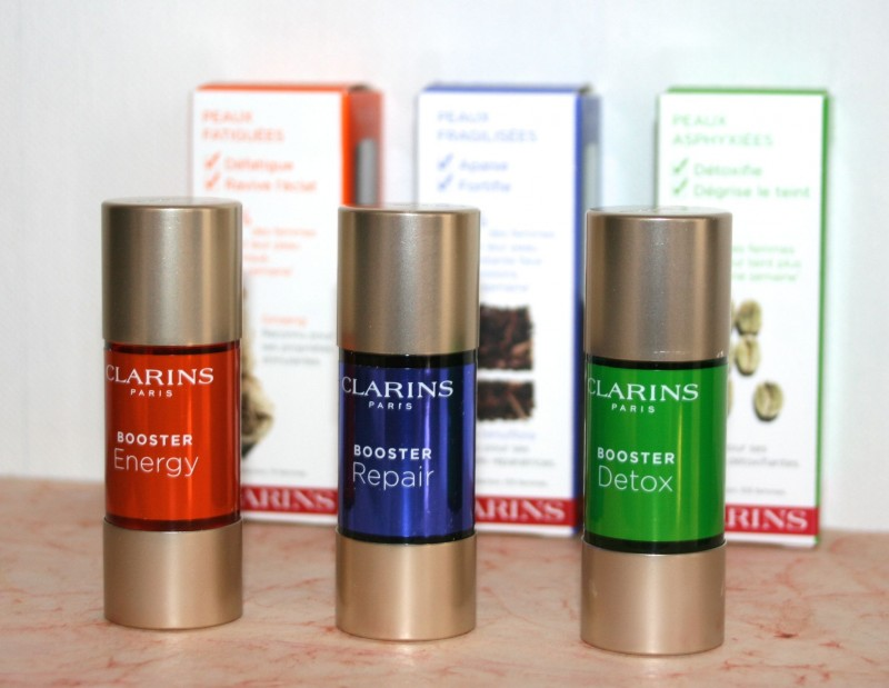 clarins booster