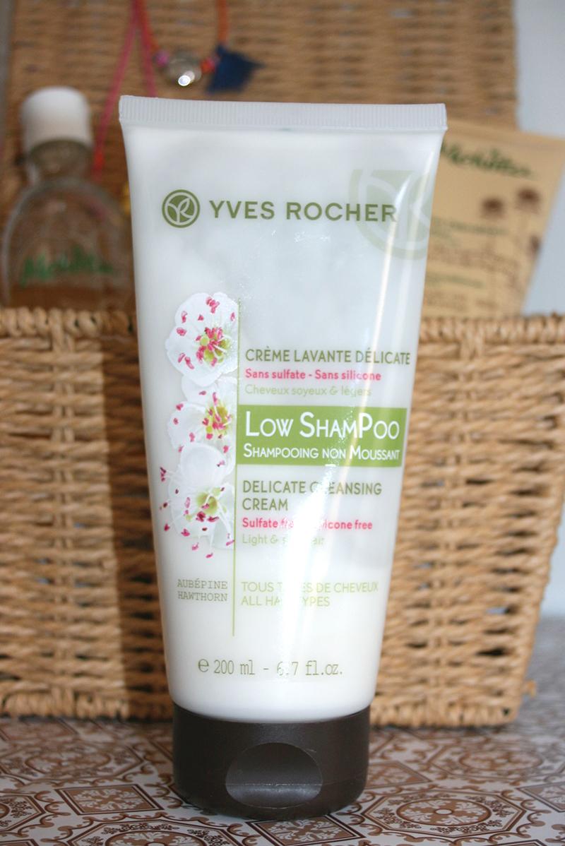 crème lavante sans sulfate low shampoo yves rocher