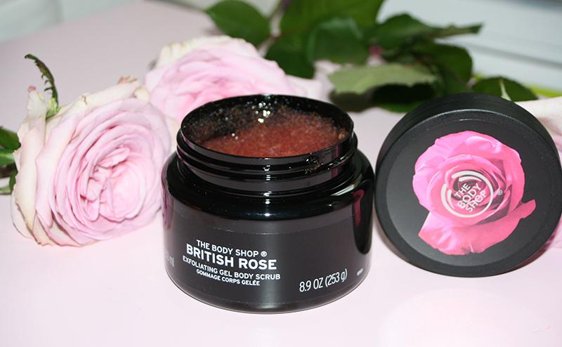 gommage british rose