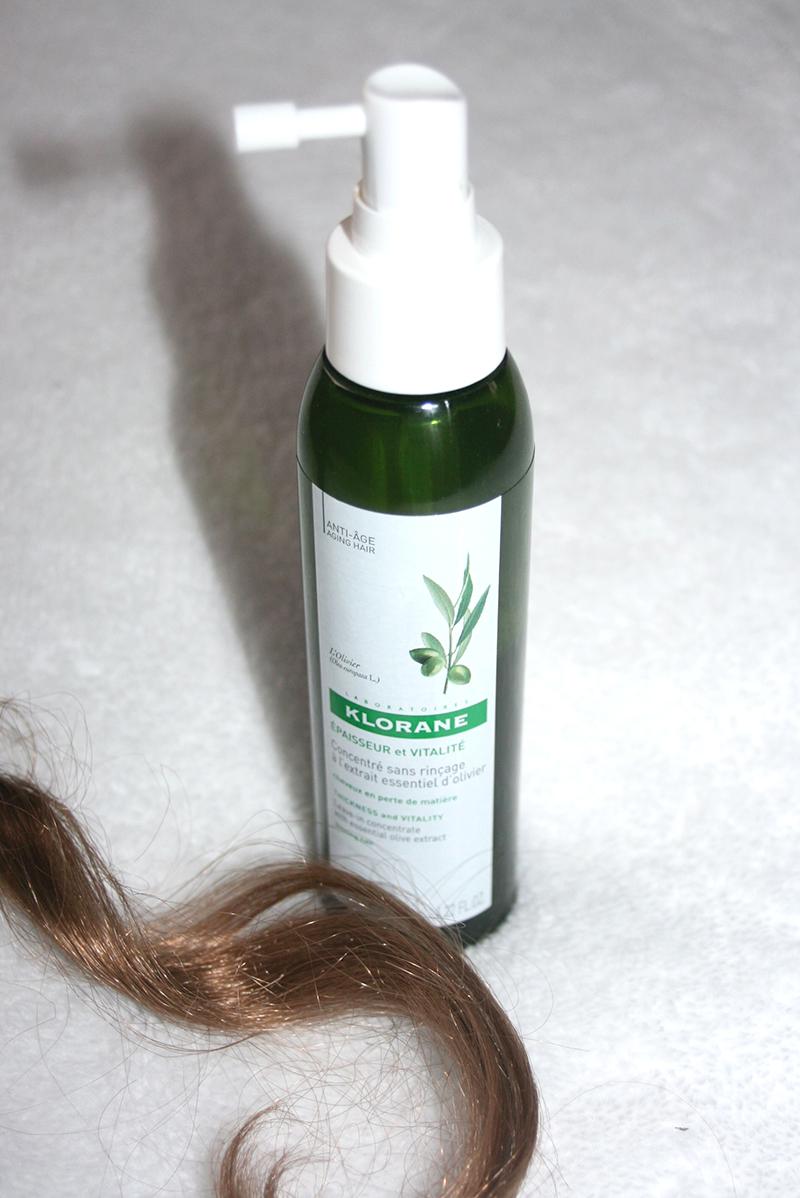 klorane concentré sans rinçage anti-âge à l'olivier