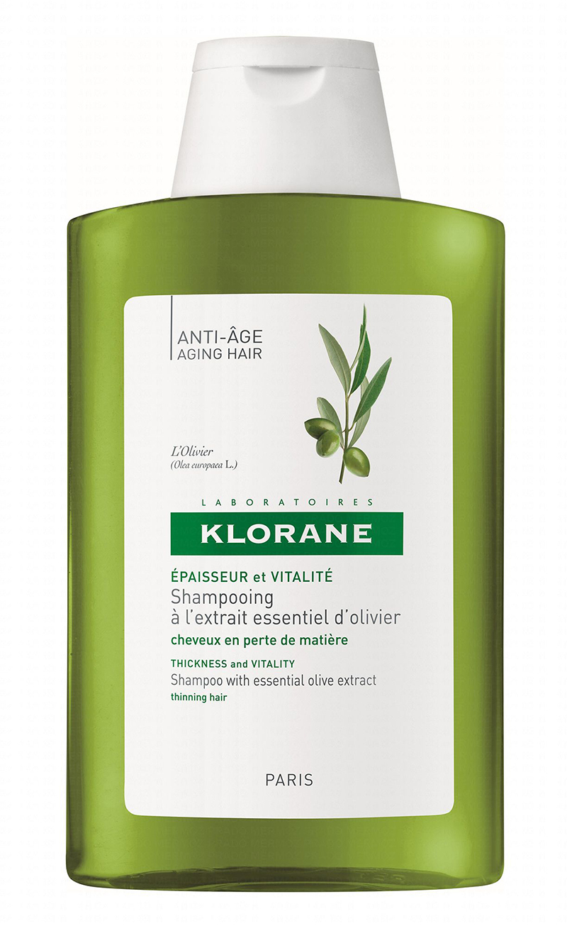 shampooing klorane olivier cheveux en perte de matière
