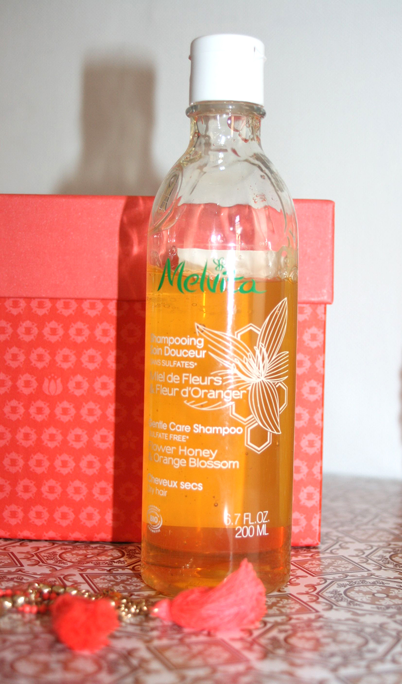 shampooing melvita fleur d'oranger