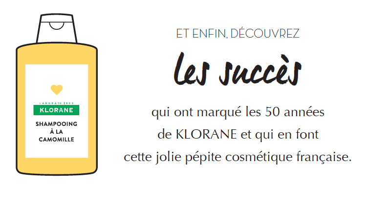 succès Klorane
