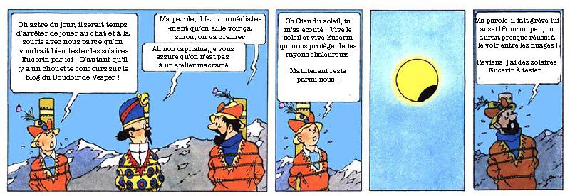 BD Tintin Solaires Eucerin