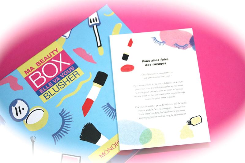 La Beauty Box par Monoprix : bien remplie et bien garnie !