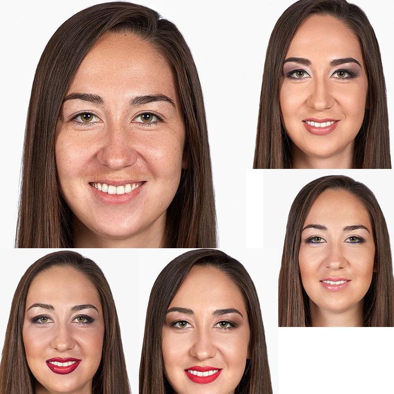 maquillage de différentes marques