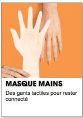 masque mains