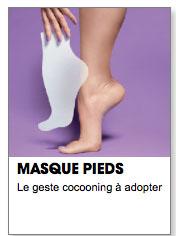 masque pieds