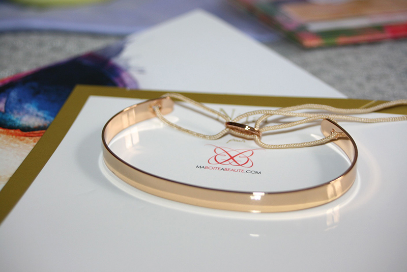bracelet jonc ma boite à beauté