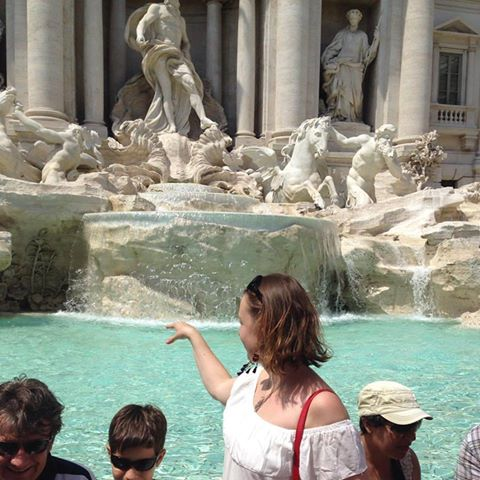 fontaine de trevi cliché