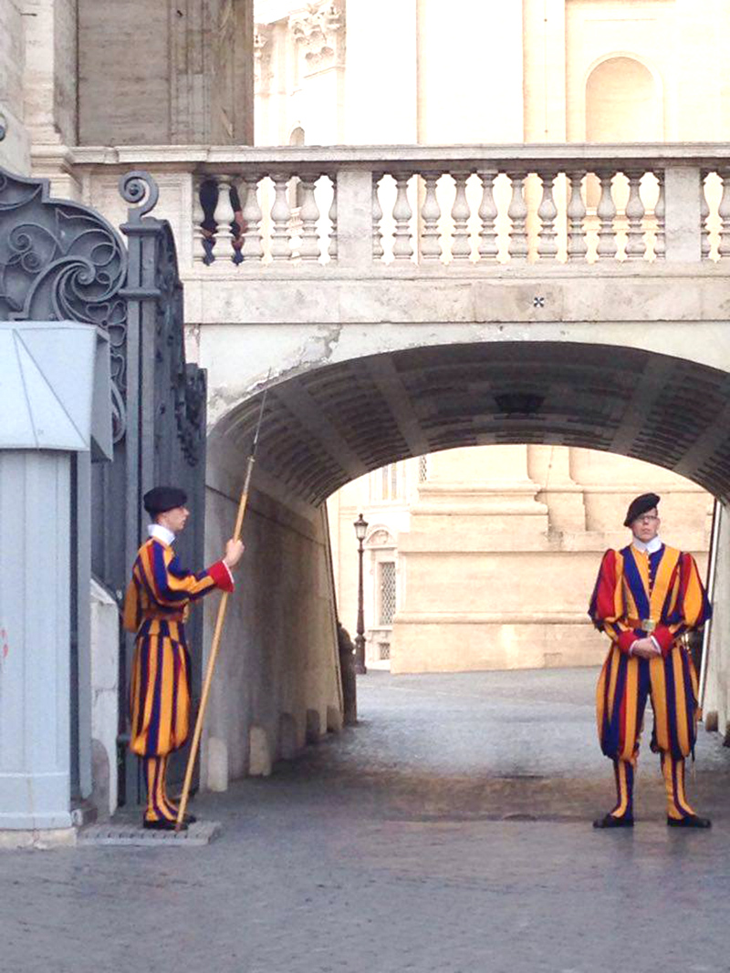 garde suisse vaticane