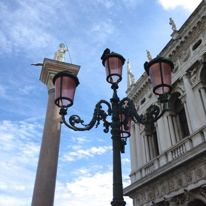 lampadaire place saint marc venise