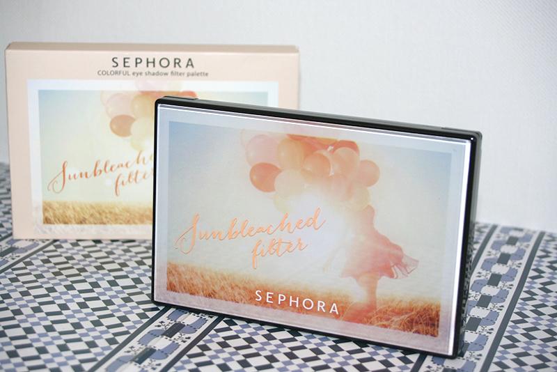 Sunbleached Filter, palette Sephora : nos yeux en mieux?