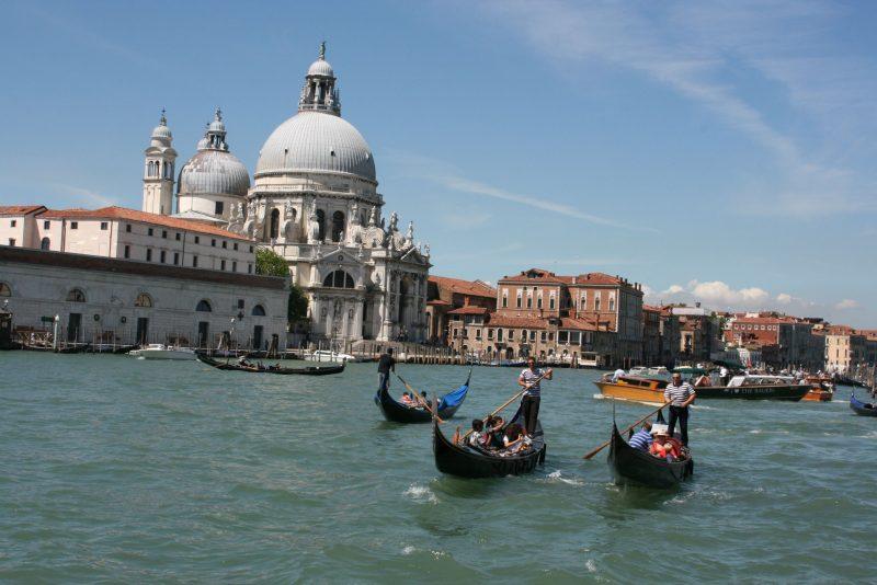 venise et la basilique Santa Maria della Salute de Venise