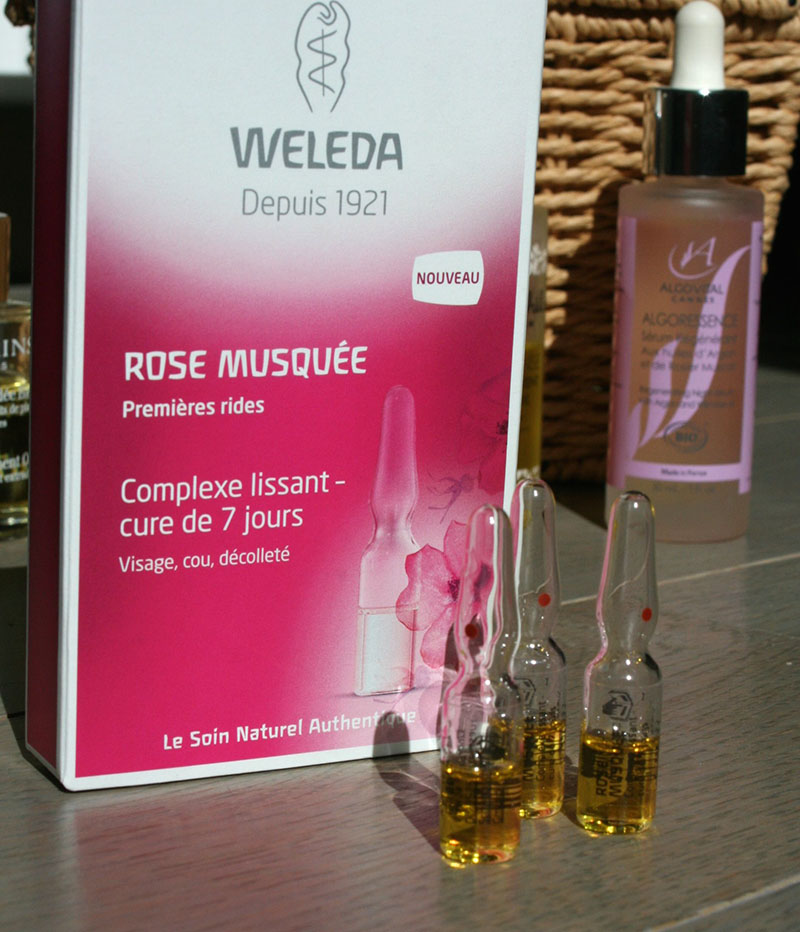 complexe lissant weleda rose musquée