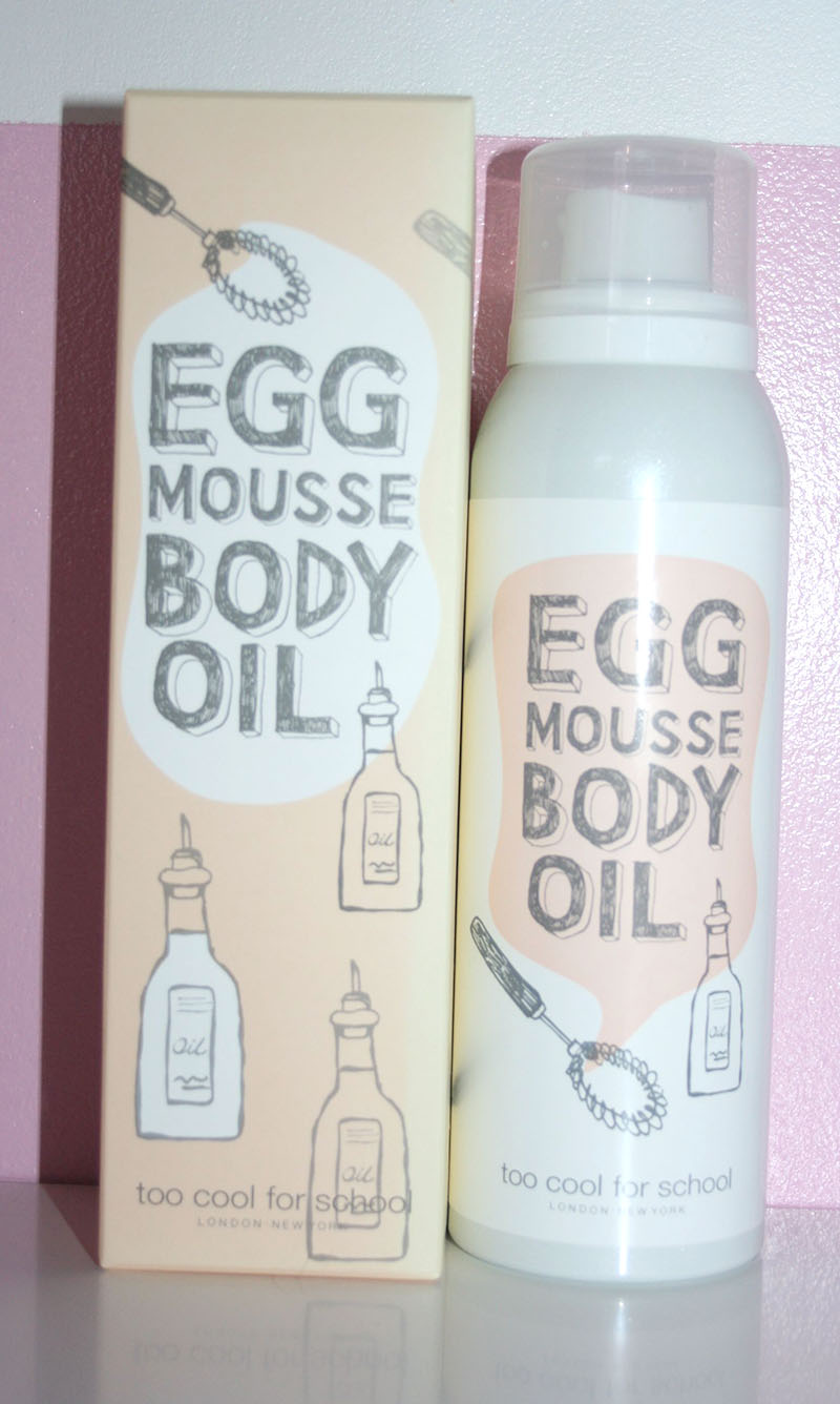 egg mousse body oil too cool for school