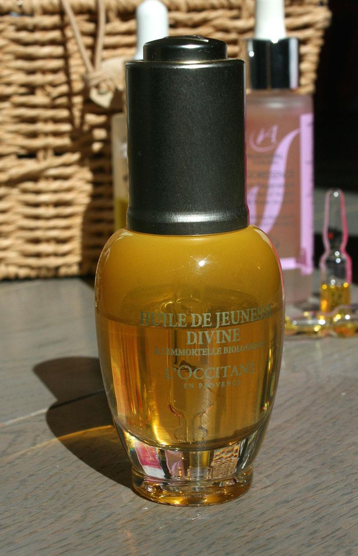 huile de jeunesse divine l'occitane