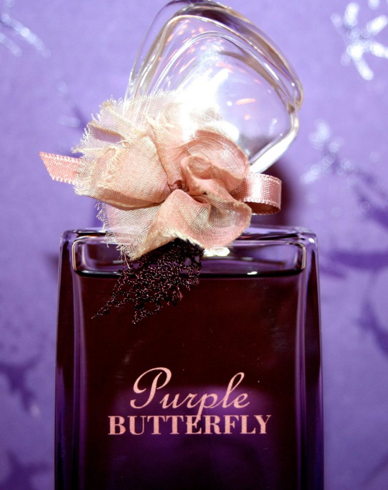 détail purple butterfly