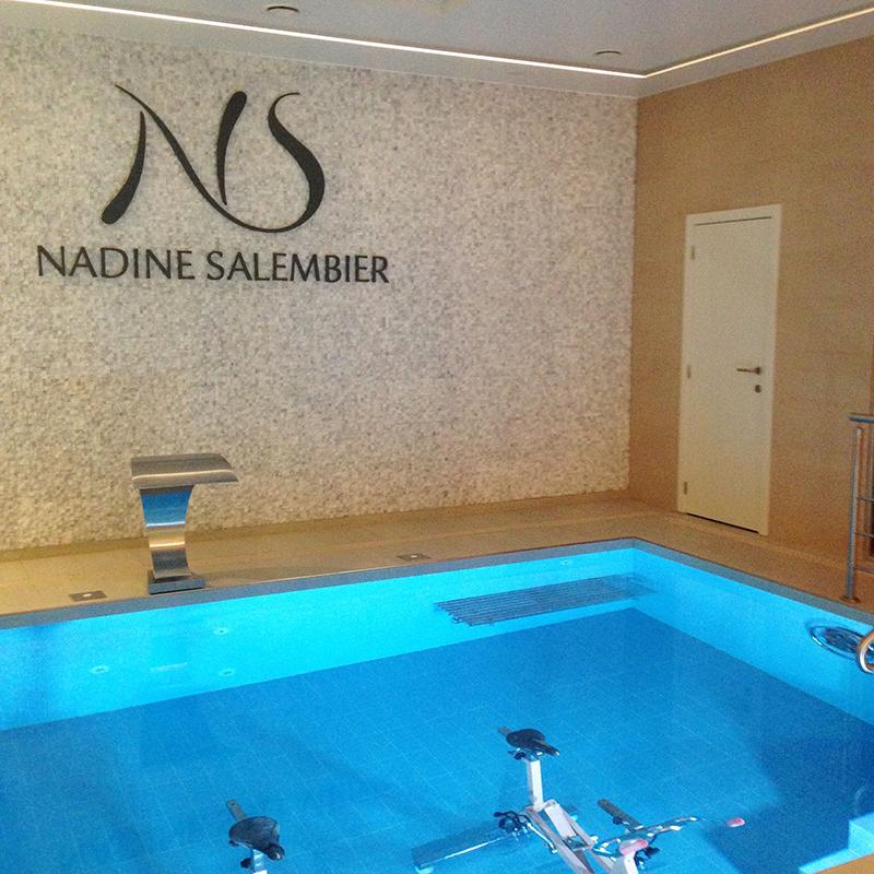 un endroit où je me suis promis de retourner : le spa Nadine Salembier à Comines, qui combine un peu tout ce que j'aime.