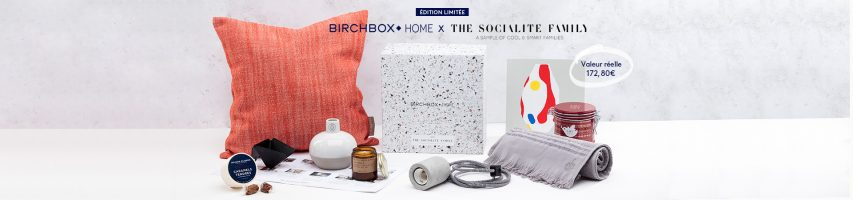 Birchbox Home X The Socialite Family : je craque !