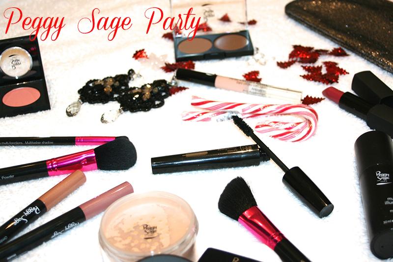 Maquillage de fêtes avec Peggy Sage [+concours]