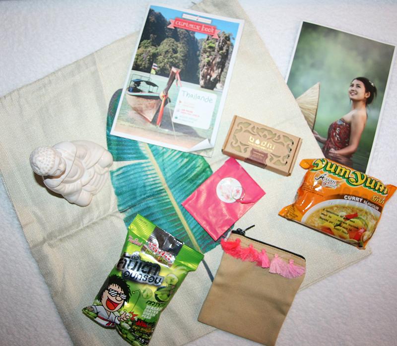 contenu box nos curieux voyageurs thaïlande