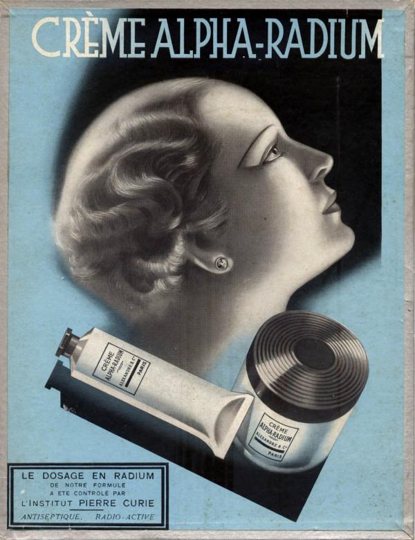 crème alpha-radium