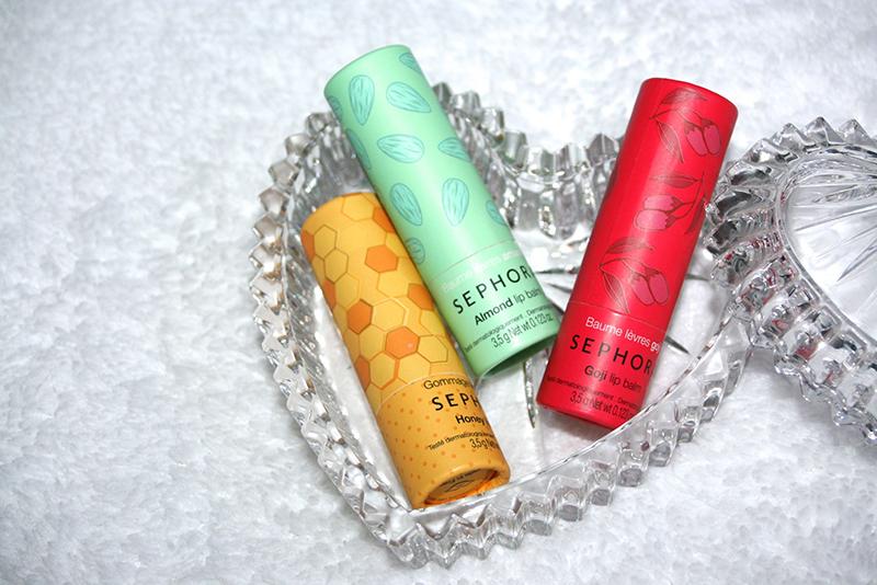 Coup de coeur pour les touts nouveaux touts beaux baumes à lèvres Sephora