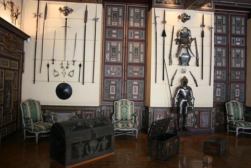 salle des armes cheverny