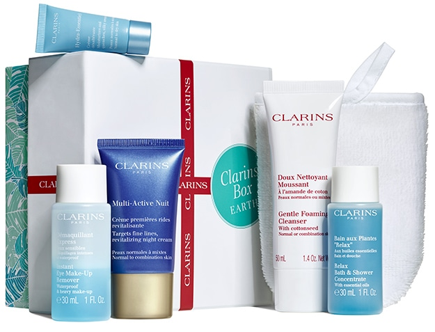 clarins earth box