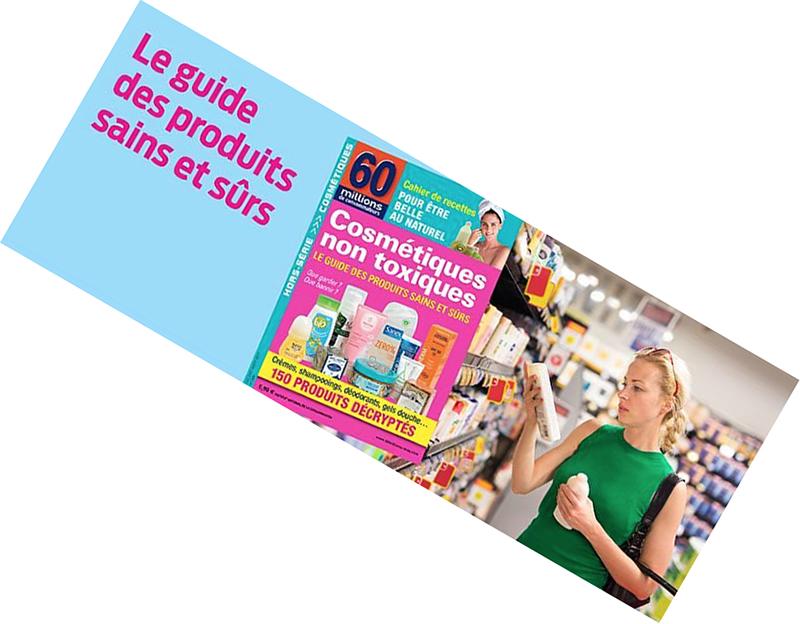 60 millions consommateurs guide cosmétiques sûrs