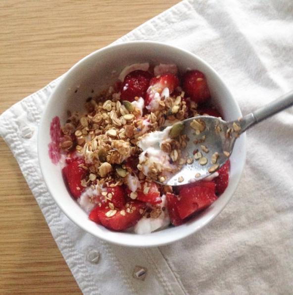 cereales sans sucre fraise petit dej
