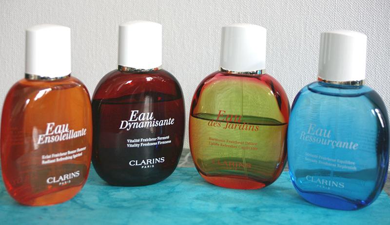 eaux de soins Clarins