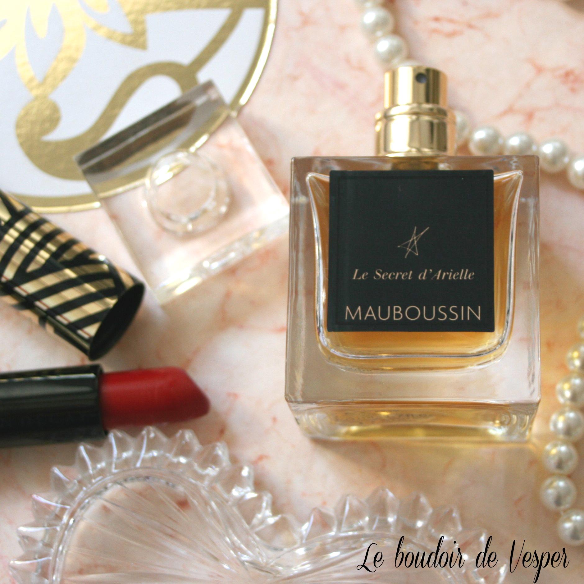 [Parfum] Mauboussin dévoile «Le secret d'Arielle» [+concours]