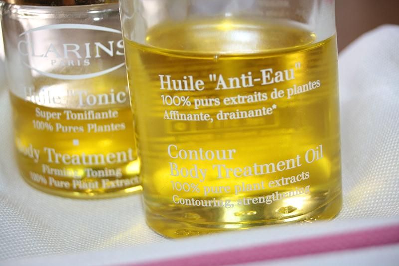huile anti-eau Clarins