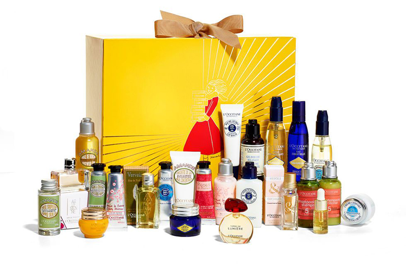 calendrier version premium l'occitane
