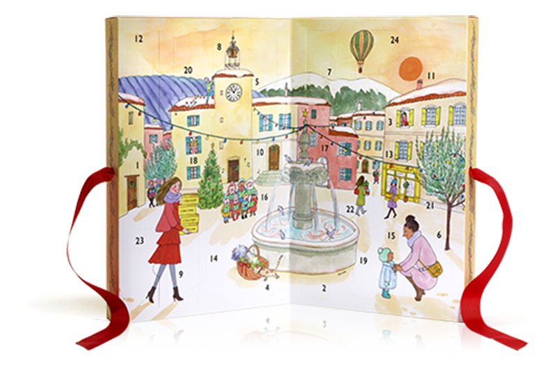 loccitane advent calendar mylittleparis