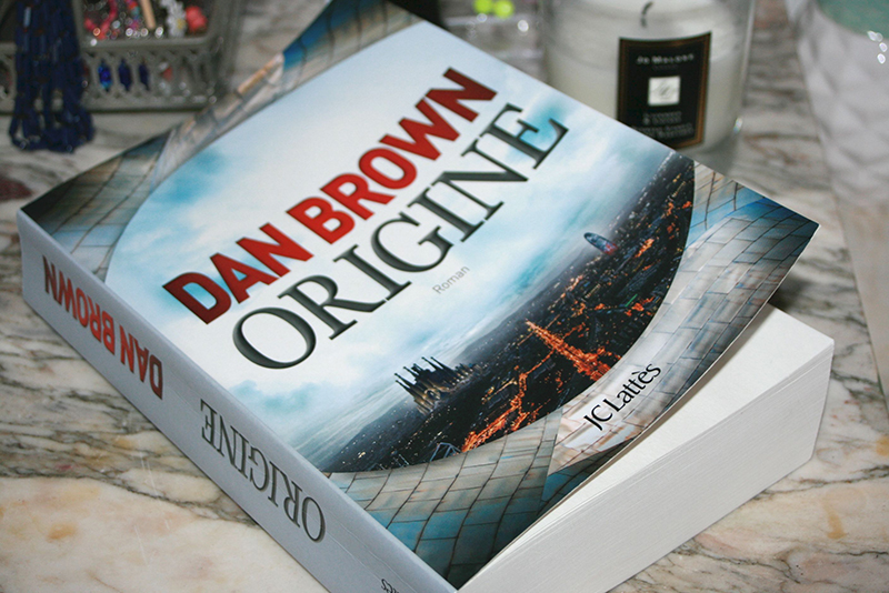 [Lecture] Origine, Dan Brown