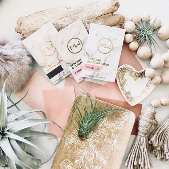 skincare paper Mai Couture