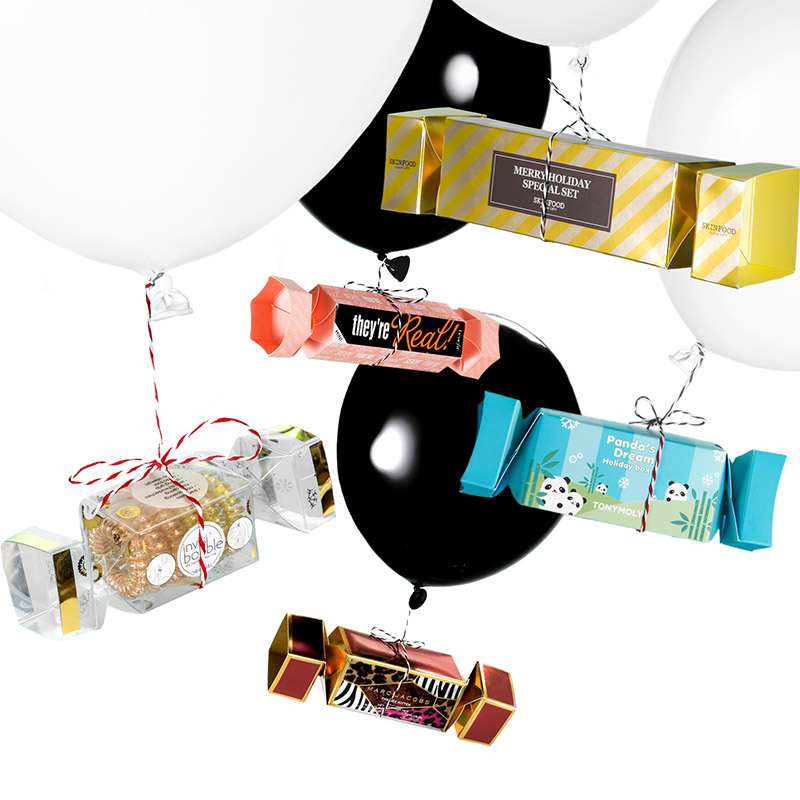 On craque sur les crackers… Idées cadeaux mini-prix maxi effets !