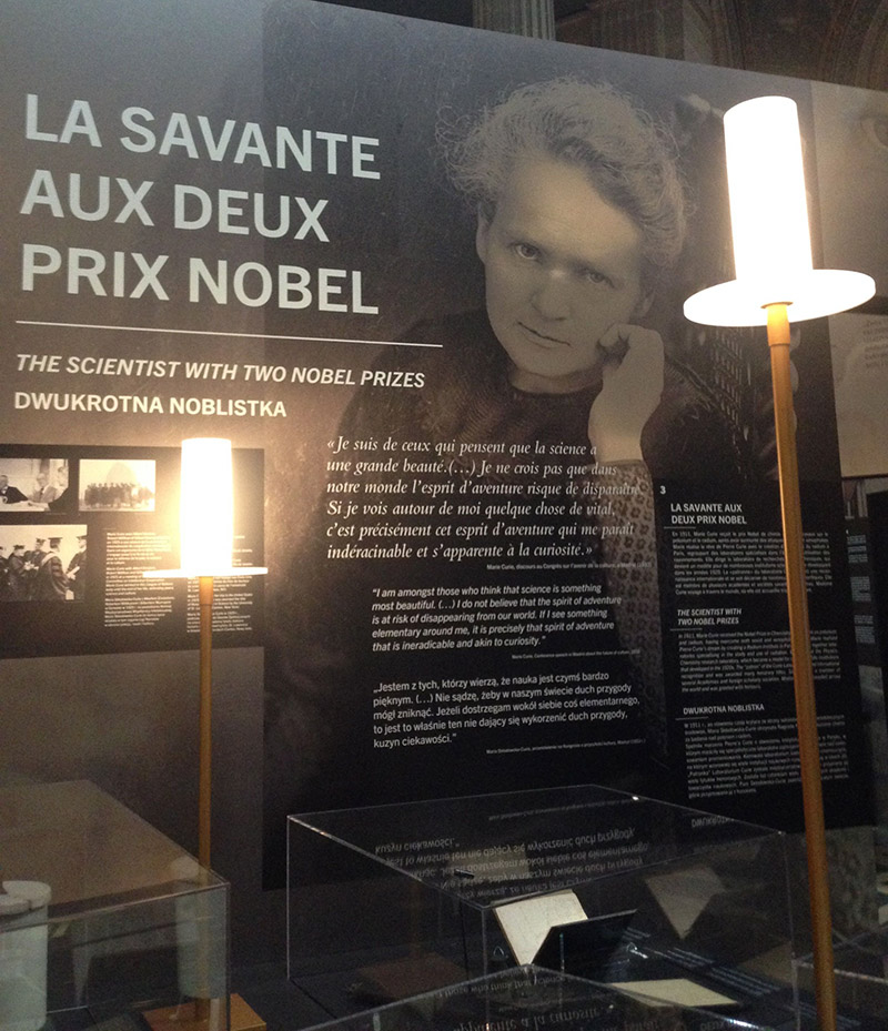 expo marie curie pantheon