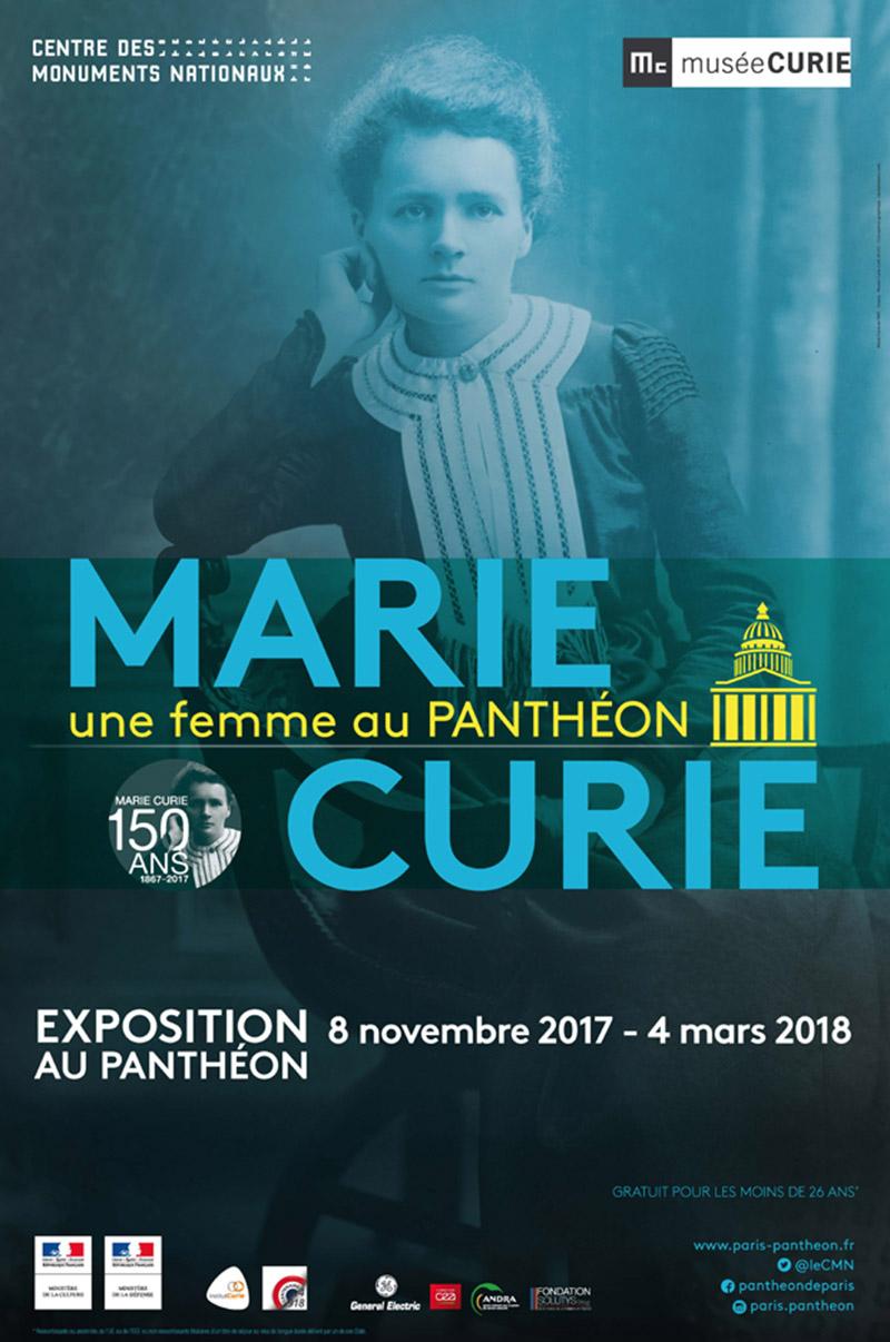 [Expo] Marie Curie au Panthéon