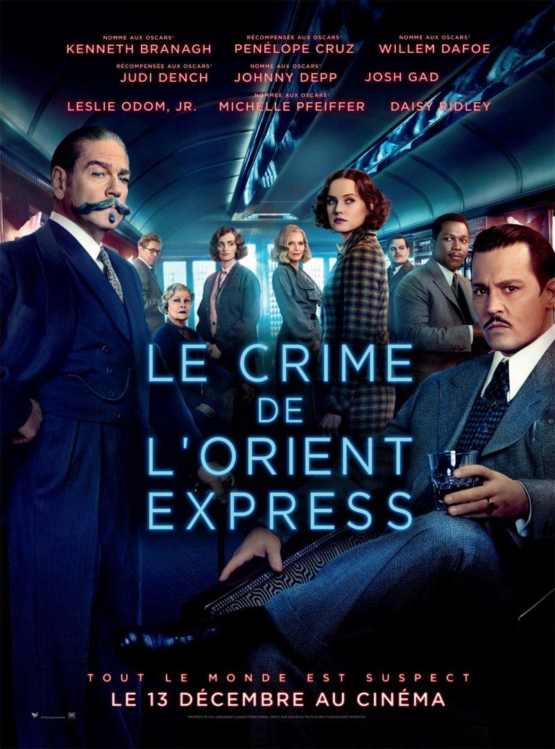 [Ciné] Le crime de l'Orient-Express – un huis-clos à la sauce Branagh