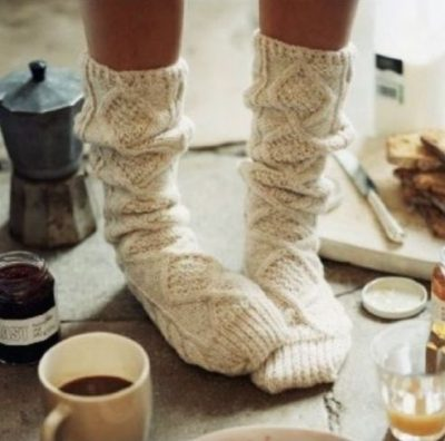 socks and hygge