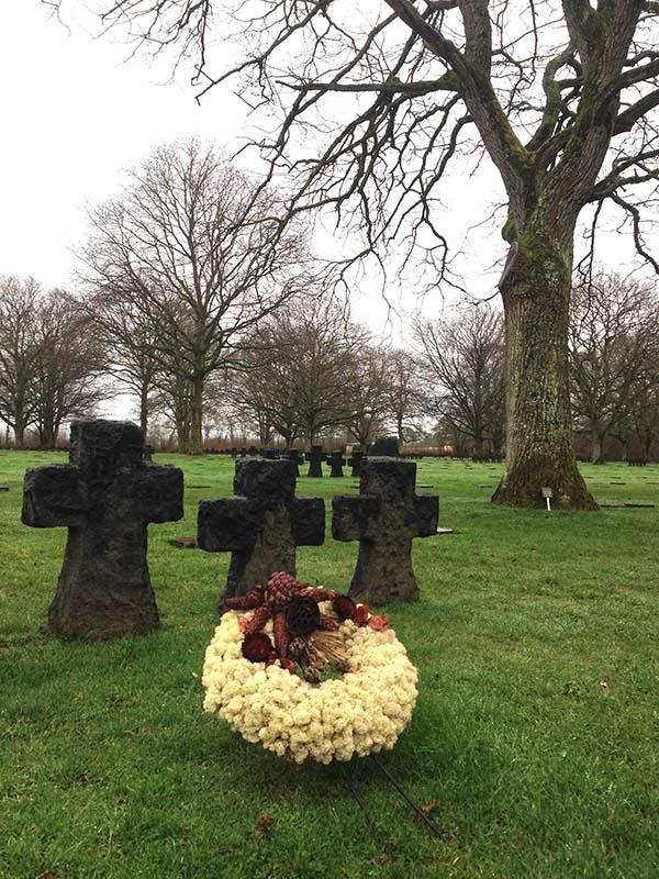 cimetière allemand normandie