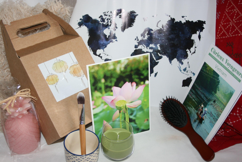 Nos Curieux Voyageurs Février : une box qui nous emmène au Vietnam