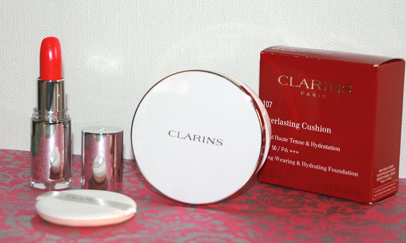 [Maquillage] J'ai testé… le teint «cushion» par Clarins