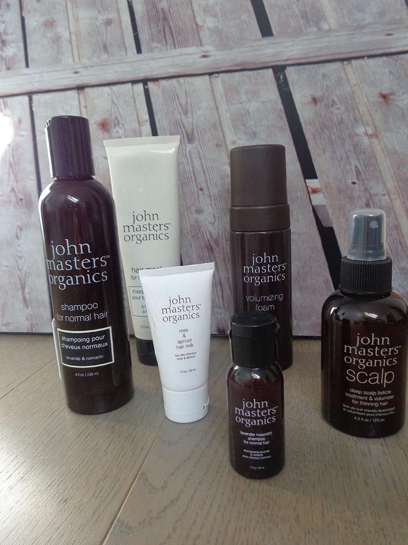 Mes cheveux fins, mes résolutions capillaires et ma découverte des produits John Master Organics [Tout un programme !]